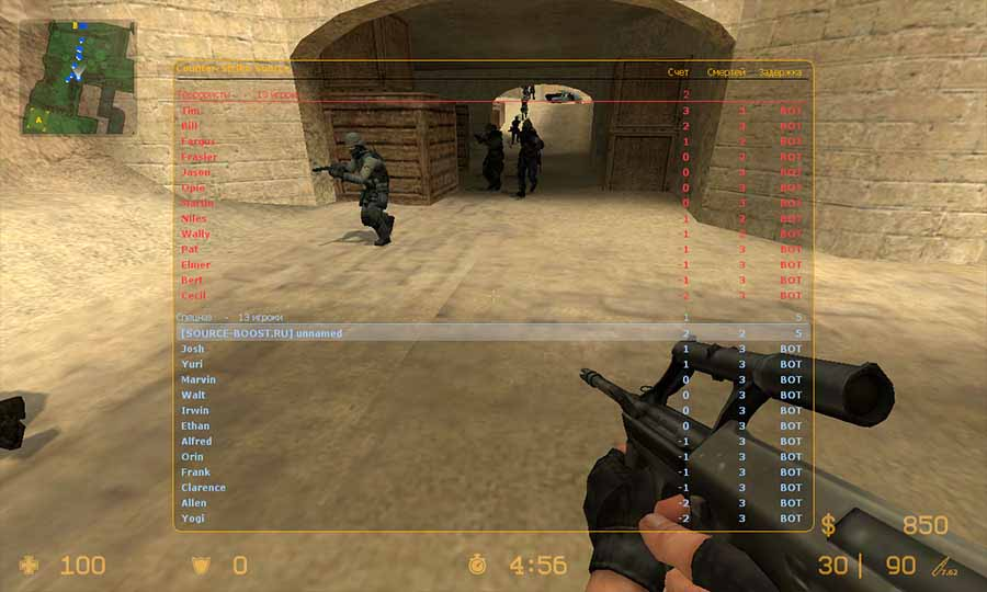mw2 counter strike warfare mod скачать торрент