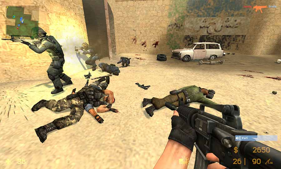 скачать counter strike high skill 1 6