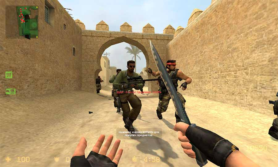 скачать бесплатно counter strike source v 34 modern warfare 4